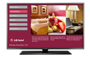 LG Hotel TV | LG Hospitality Televisions | LG Commercial TV