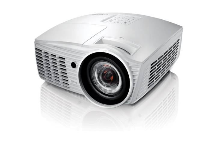 Optoma eh415st projector compact projectors knitec for Smallest full hd projector